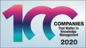 KMWorld 100 Companies in Knowledge Management
